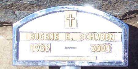 SCHABEN, EUGENE H. - Shelby County, Iowa | EUGENE H. SCHABEN