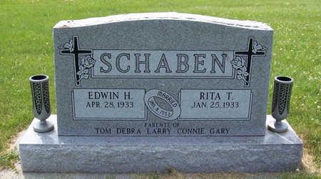 SCHABEN, RITA T. - Shelby County, Iowa | RITA T. SCHABEN