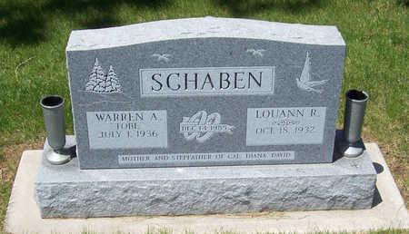 SCHABEN, WARREN A.
