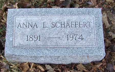 SCHAFFERT, ANNA L. - Shelby County, Iowa | ANNA L. SCHAFFERT