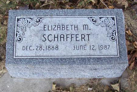 SCHAFFERT, ELIZABETH M. - Shelby County, Iowa | ELIZABETH M. SCHAFFERT