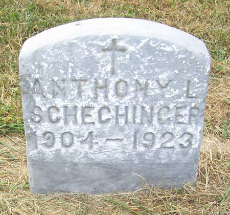 SCHECHINGER, ANTHONY L. - Shelby County, Iowa | ANTHONY L. SCHECHINGER