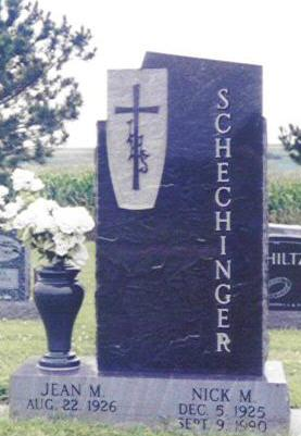 SCHECHINGER, JEAN M. - Shelby County, Iowa | JEAN M. SCHECHINGER