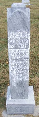 SCHECHINGER, PETRUS - Shelby County, Iowa | PETRUS SCHECHINGER