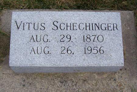 SCHECHINGER, VITUS - Shelby County, Iowa | VITUS SCHECHINGER