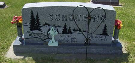 SCHEURING, AUSTIN J. - Shelby County, Iowa | AUSTIN J. SCHEURING