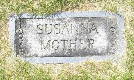 SCHEURING, SUSANNA - Shelby County, Iowa | SUSANNA SCHEURING