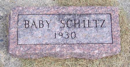 SCHILTZ, BABY - Shelby County, Iowa   BABY SCHILTZ