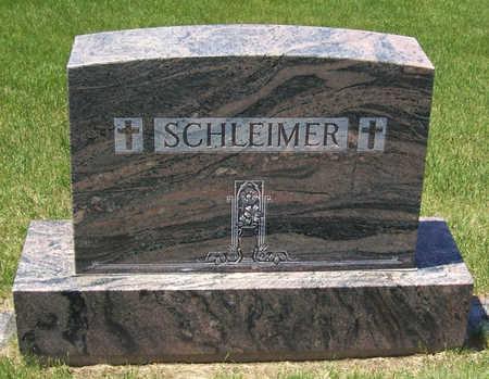 SCHLEIMER, ANTON & WILHELMINA (LOT) - Shelby County, Iowa   ANTON & WILHELMINA (LOT) SCHLEIMER