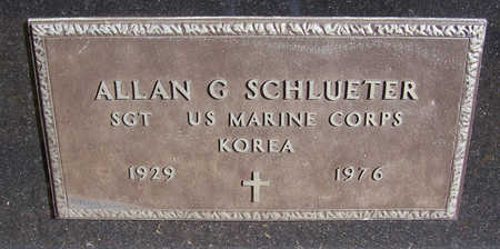SCHLUETER, ALLAN G. (MILITARY) - Shelby County, Iowa | ALLAN G. (MILITARY) SCHLUETER