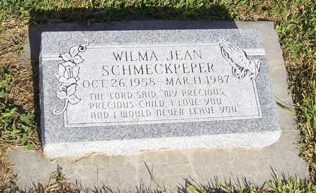 SCHMECKPEPER, WILMA JEAN - Shelby County, Iowa | WILMA JEAN SCHMECKPEPER