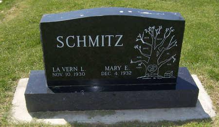 SCHMITZ, LA VERN L. - Shelby County, Iowa   LA VERN L. SCHMITZ