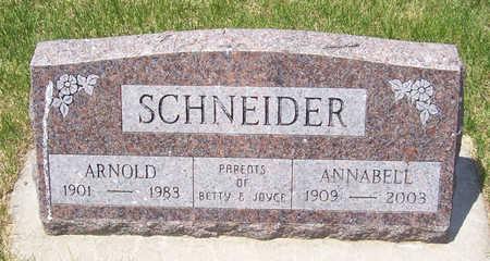 SCHNEIDER, ANNABELL - Shelby County, Iowa | ANNABELL SCHNEIDER
