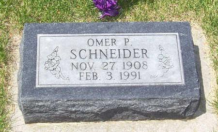 SCHNEIDER, OMER P. - Shelby County, Iowa | OMER P. SCHNEIDER