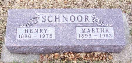 SCHNOOR, MARTHA - Shelby County, Iowa | MARTHA SCHNOOR