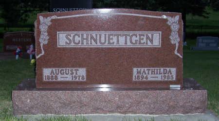 SCHNUETTGEN, AUGUST - Shelby County, Iowa | AUGUST SCHNUETTGEN