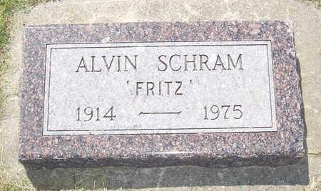 SCHRAM, ALVIN (FRITZ) - Shelby County, Iowa | ALVIN (FRITZ) SCHRAM