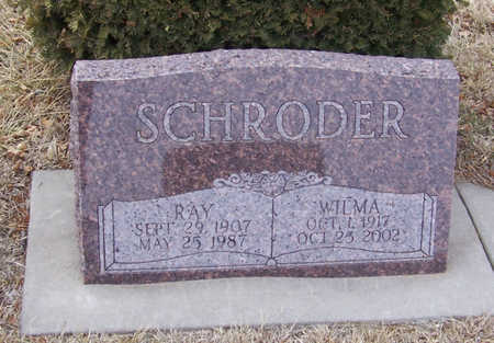 SCHRODER, RAY - Shelby County, Iowa | RAY SCHRODER