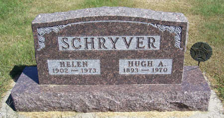 SCHRYVER, HUGH A. - Shelby County, Iowa | HUGH A. SCHRYVER