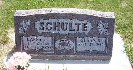SCHULTE, LARRY J. - Shelby County, Iowa | LARRY J. SCHULTE