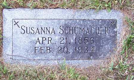 MEINZ SCHUMACHER, SUSANNA - Shelby County, Iowa | SUSANNA MEINZ SCHUMACHER