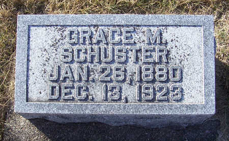 SCHUSTER, GRACE M. - Shelby County, Iowa | GRACE M. SCHUSTER