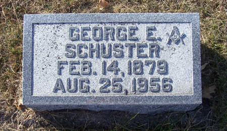 SCHUSTER, GEORGE E. - Shelby County, Iowa | GEORGE E. SCHUSTER
