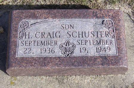 SCHUSTER, H. CRAIG - Shelby County, Iowa | H. CRAIG SCHUSTER