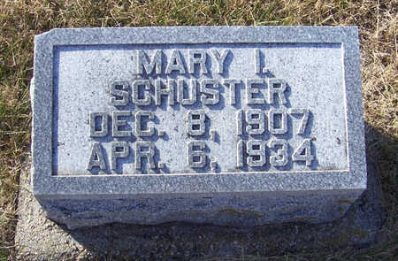 SCHUSTER, MARY I. - Shelby County, Iowa | MARY I. SCHUSTER
