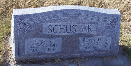 SCHUSTER, RONALD A. - Shelby County, Iowa | RONALD A. SCHUSTER