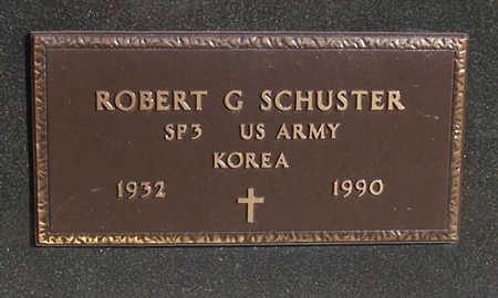 SCHUSTER, ROBERT G. (MILITARY) - Shelby County, Iowa | ROBERT G. (MILITARY) SCHUSTER