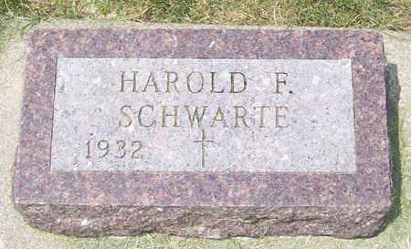 SCHWARTE, HAROLD F. - Shelby County, Iowa | HAROLD F. SCHWARTE