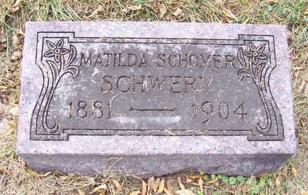 SCHOMER SCHWERY, MATILDA - Shelby County, Iowa | MATILDA SCHOMER SCHWERY