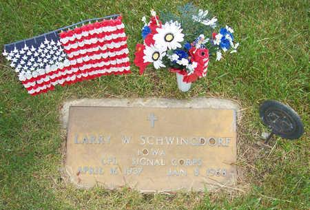 SCHWINGDORF, LARRY W. - Shelby County, Iowa   LARRY W. SCHWINGDORF