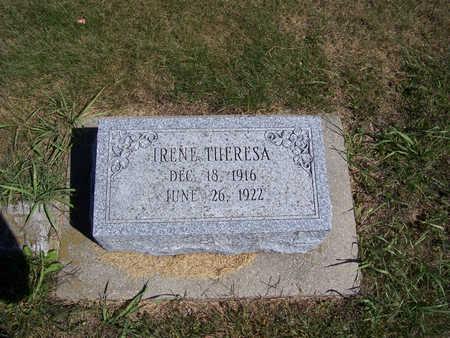 SCOTT, IRENE THERESA - Shelby County, Iowa | IRENE THERESA SCOTT