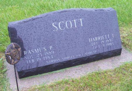 SCOTT, RASMUS P. - Shelby County, Iowa   RASMUS P. SCOTT