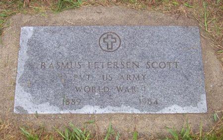 SCOTT, RASMUS PETERSEN (MILITARY) - Shelby County, Iowa   RASMUS PETERSEN (MILITARY) SCOTT