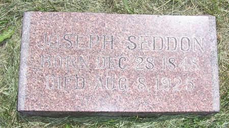 SEDDON, JOSEPH - Shelby County, Iowa   JOSEPH SEDDON