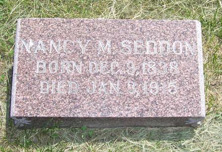SEDDON, NANCY M. - Shelby County, Iowa | NANCY M. SEDDON