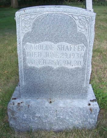 SHAFFER, CAROLINE - Shelby County, Iowa | CAROLINE SHAFFER
