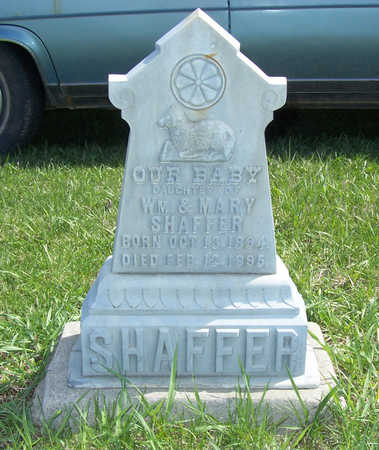 SHAFFER, INFANT DAUGHTER - Shelby County, Iowa | INFANT DAUGHTER SHAFFER