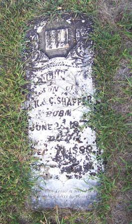 SHAFFER, JOHN J. - Shelby County, Iowa | JOHN J. SHAFFER