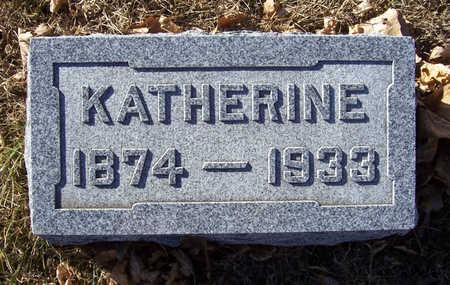 SHAFFER, KATHERINE - Shelby County, Iowa   KATHERINE SHAFFER