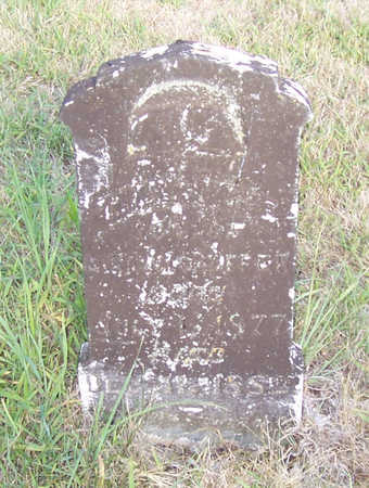SHAFFER, TREVANION E. - Shelby County, Iowa   TREVANION E. SHAFFER