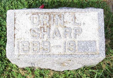 SHARP, ORIN L. - Shelby County, Iowa   ORIN L. SHARP