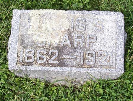 SHARP, WILLIS S. - Shelby County, Iowa | WILLIS S. SHARP