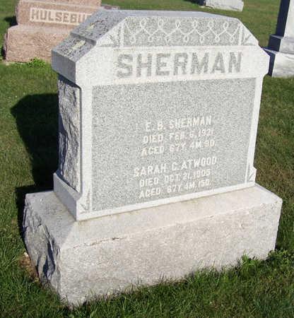 SHERMAN, SARAH C. - Shelby County, Iowa | SARAH C. SHERMAN