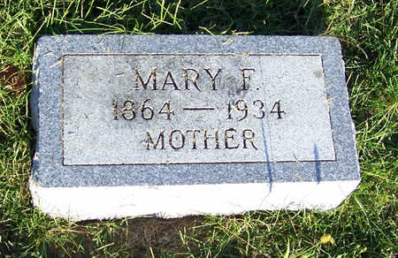 SHERMAN, MARY F. (MOTHER) - Shelby County, Iowa | MARY F. (MOTHER) SHERMAN