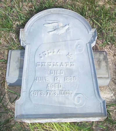 SHUMATE, JULIA M. - Shelby County, Iowa | JULIA M. SHUMATE