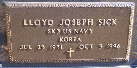 SICK, LLOYD JOSEPH (MILITARY) - Shelby County, Iowa | LLOYD JOSEPH (MILITARY) SICK